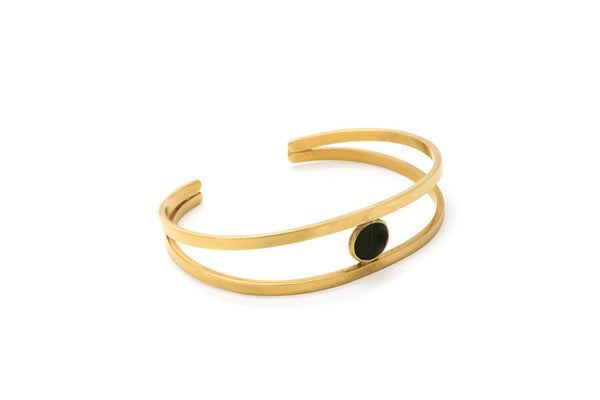 Open Stone Bangle (More Options)