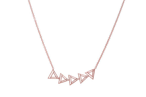 Eastbound Layering Triangle Necklace (More Options)