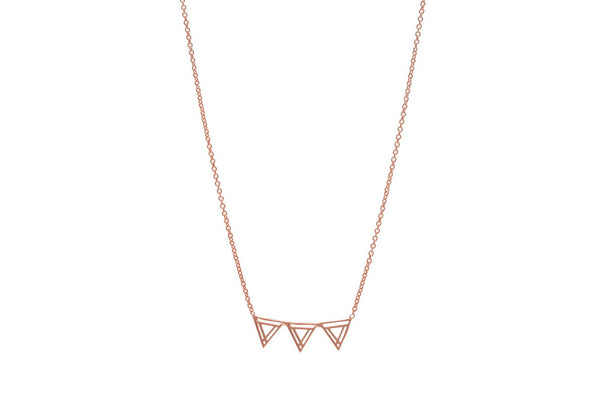 Southbound Triangle Layering Necklace (More Options)