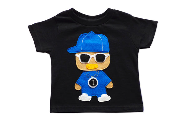 Rad Clock Rapper Toddler Tee