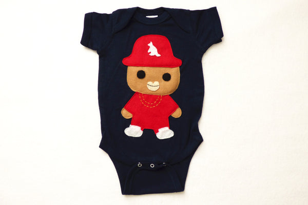 Rad Red Kangaroo Rapper Hat Onesie