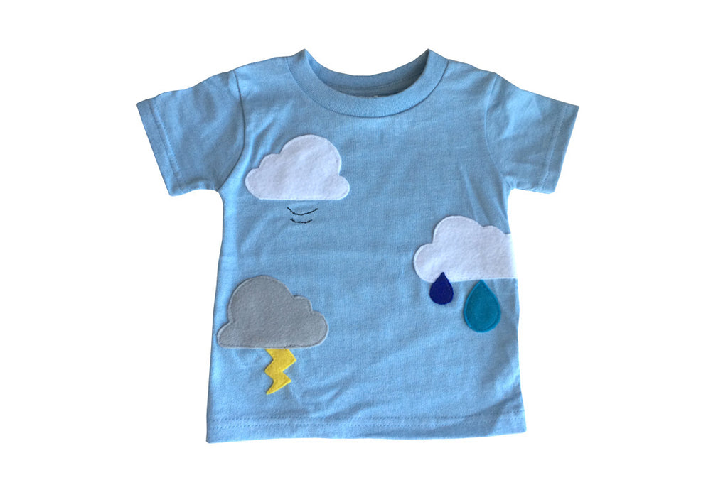 Clouds are Everywhere Toddler T-Shirt