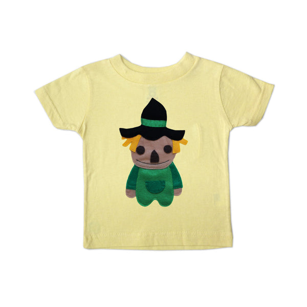 The Wonderful Wizard of Oz Scarecrow Kids Tee