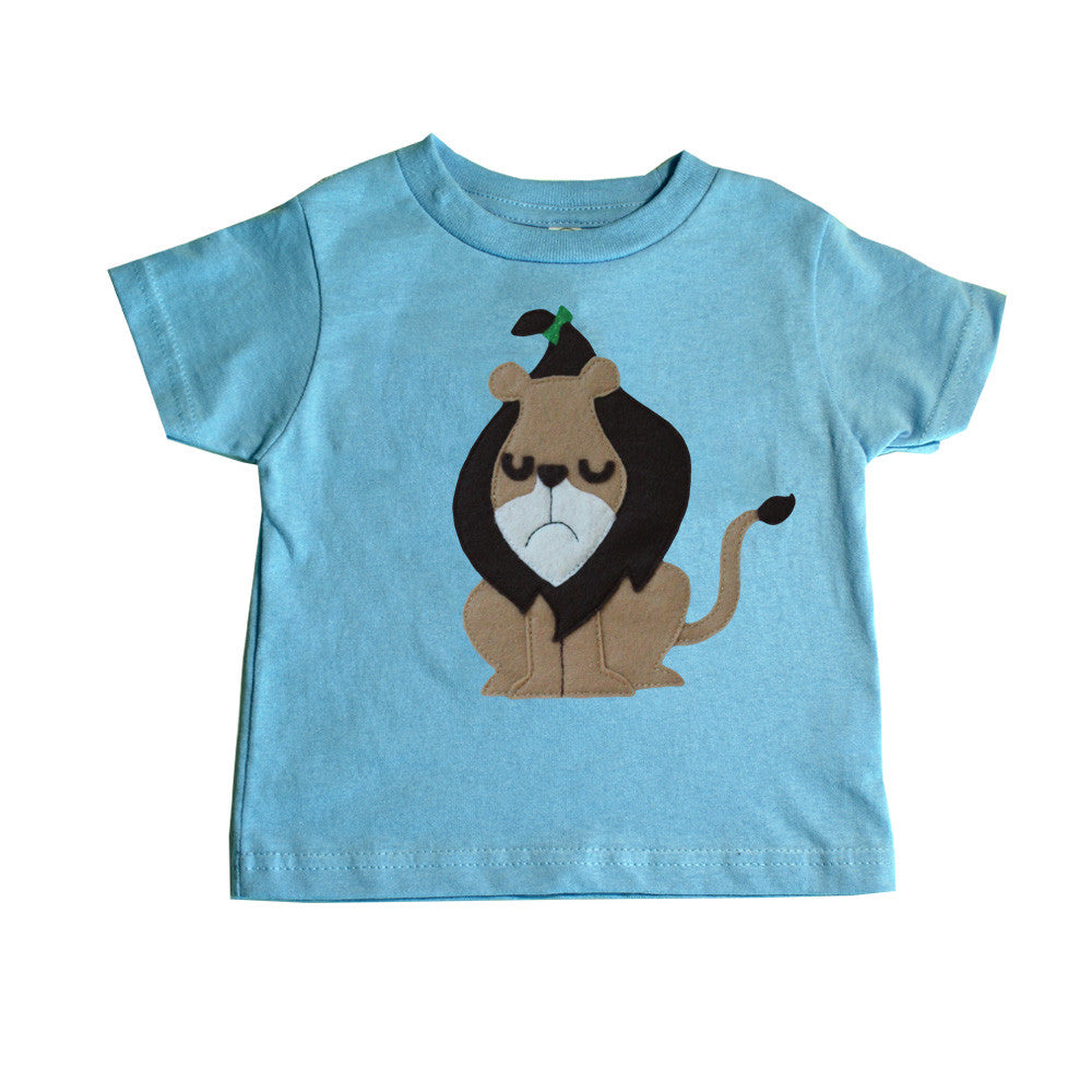 The Wonderful Wizard of Oz Cowardly Lion Kids Tee