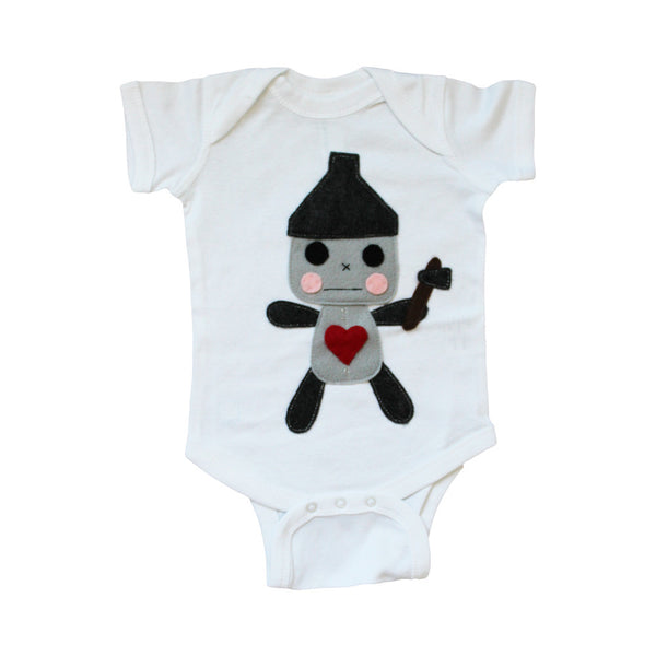 The Wonderful Wizard of Oz The Tin Woodman Baby Infant Bodysuit
