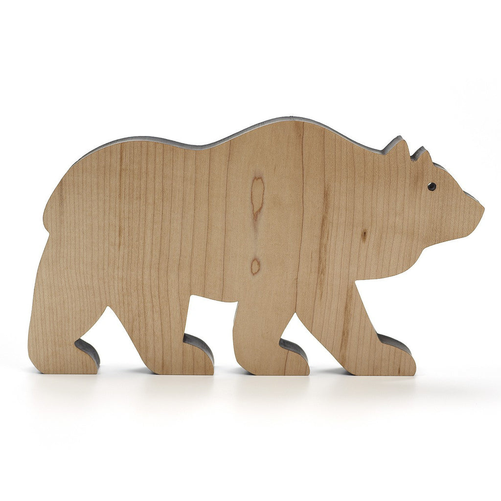 Wooden Bear (Natural) ---