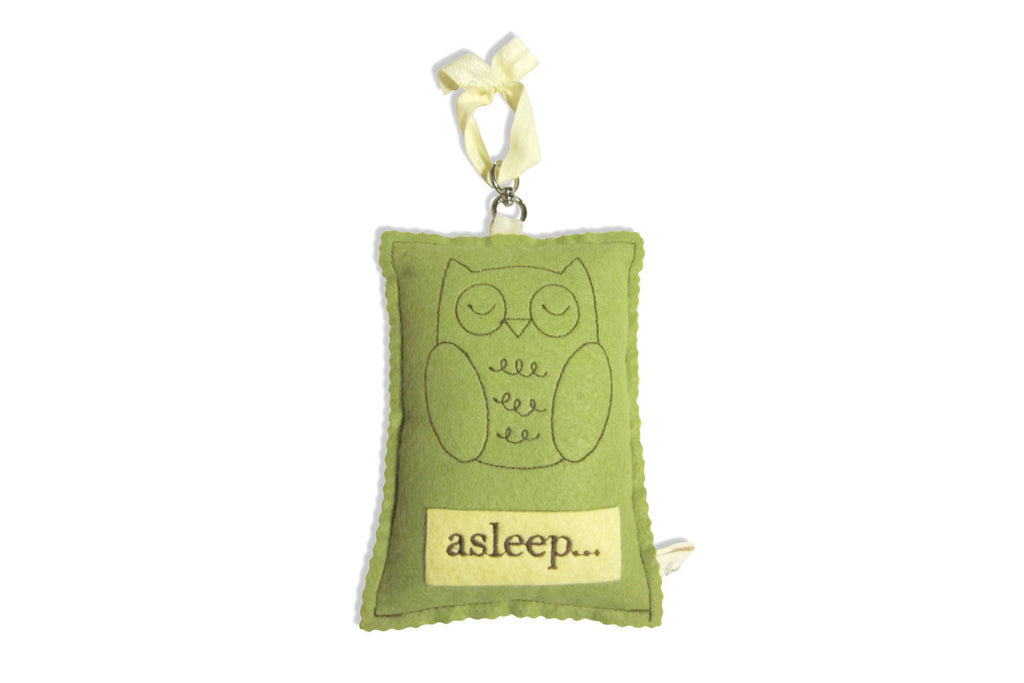 Owl Sleep Awake Sign ---