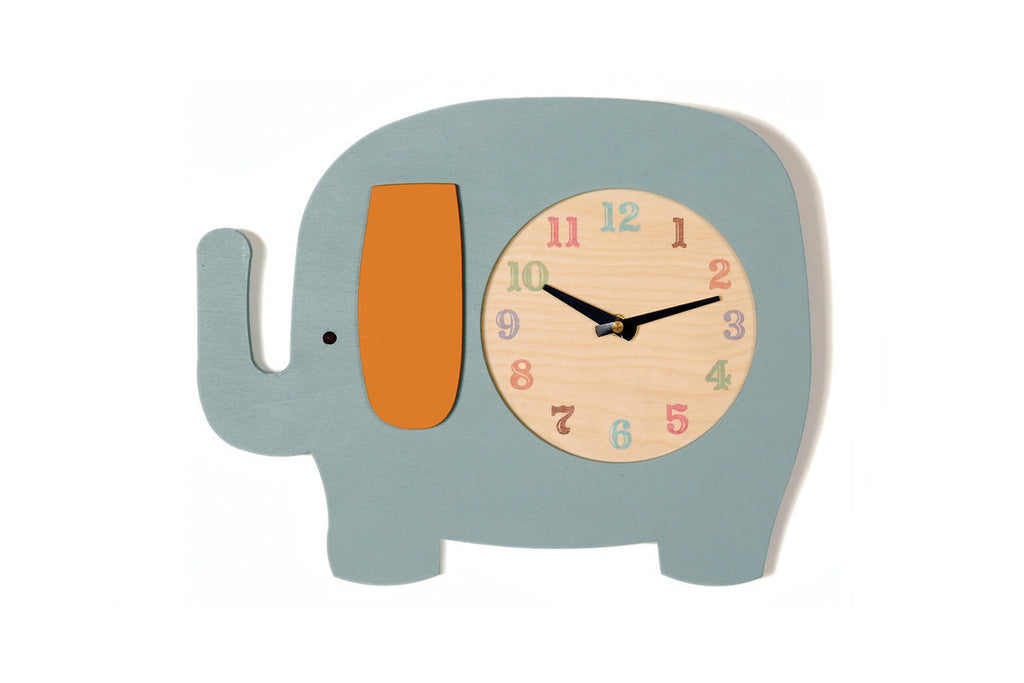 Elephant Clock (More Colors) ---