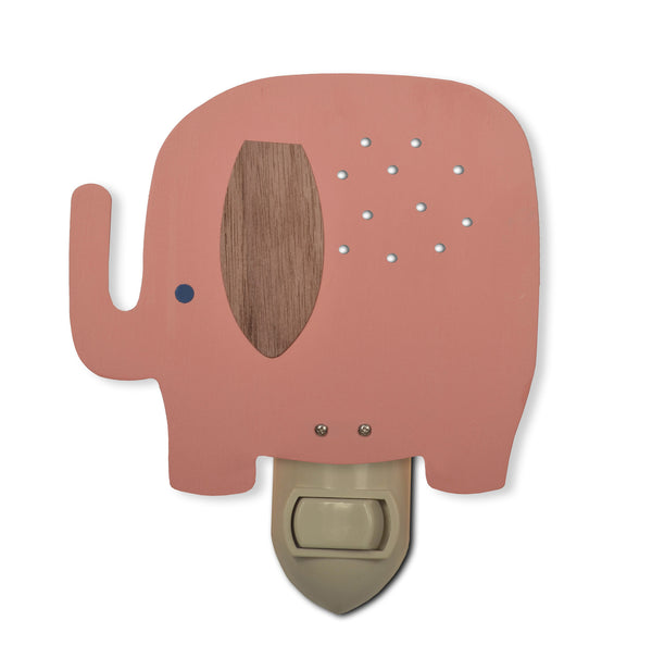 Elephant Nightlight (More Colors) ---