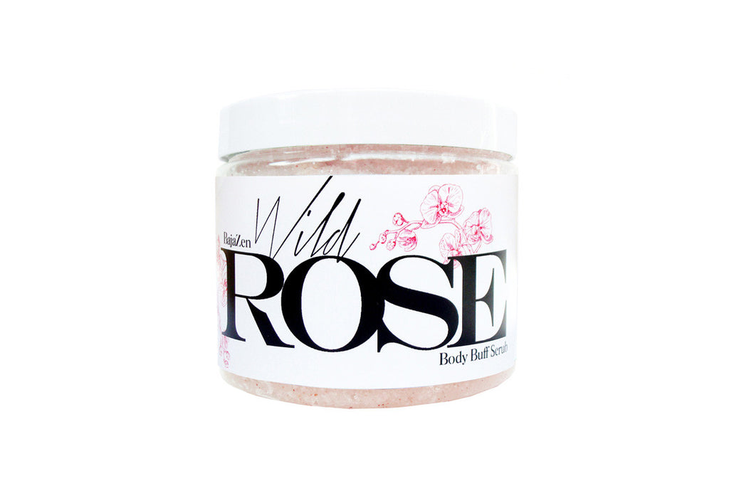 Wild Rose Body Buff Scrub