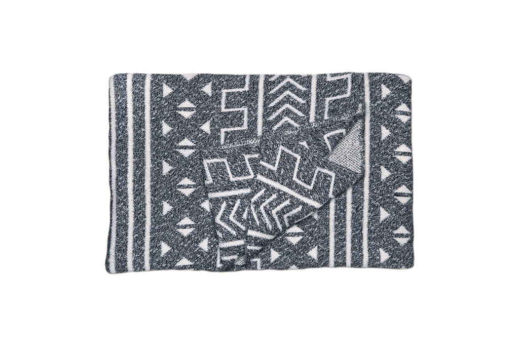 Onyx Mali Throw Blanket