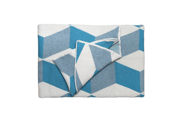 Azure Taormina Throw Blanket
