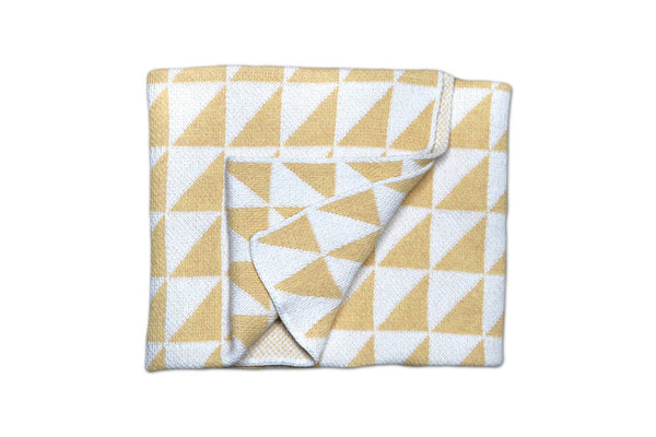Maize Mansfield Baby Blanket