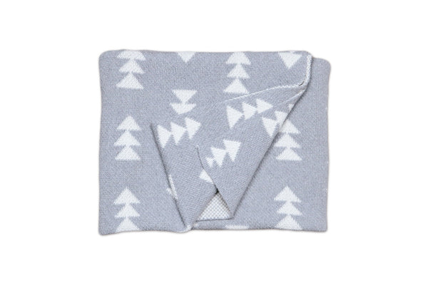 Smoke Rivington Baby Blanket