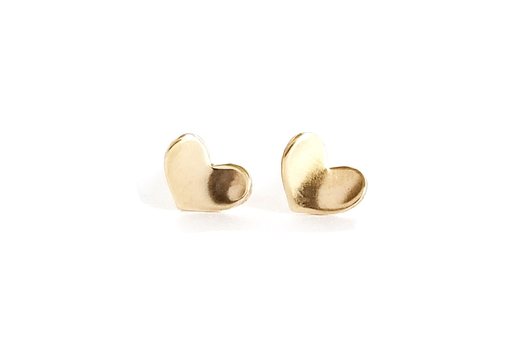 Heart Stud Earrings (More Options)