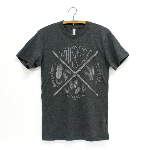 Heather Black Whiskey T-Shirt