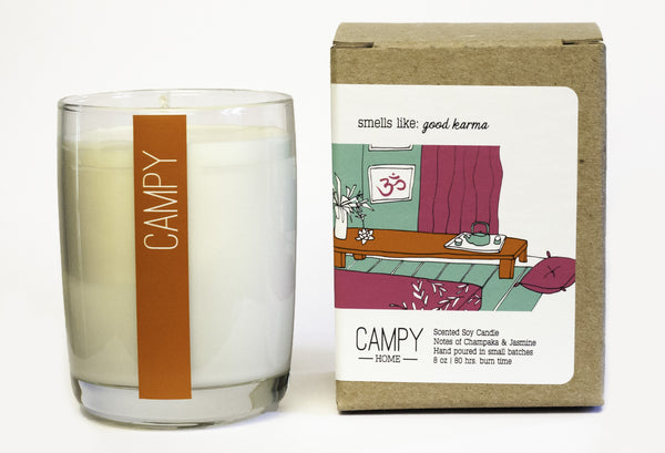 Good Karma Candle ---