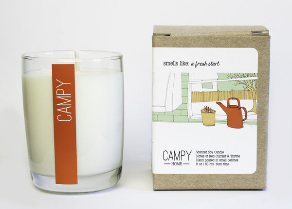 A Fresh Start Candle