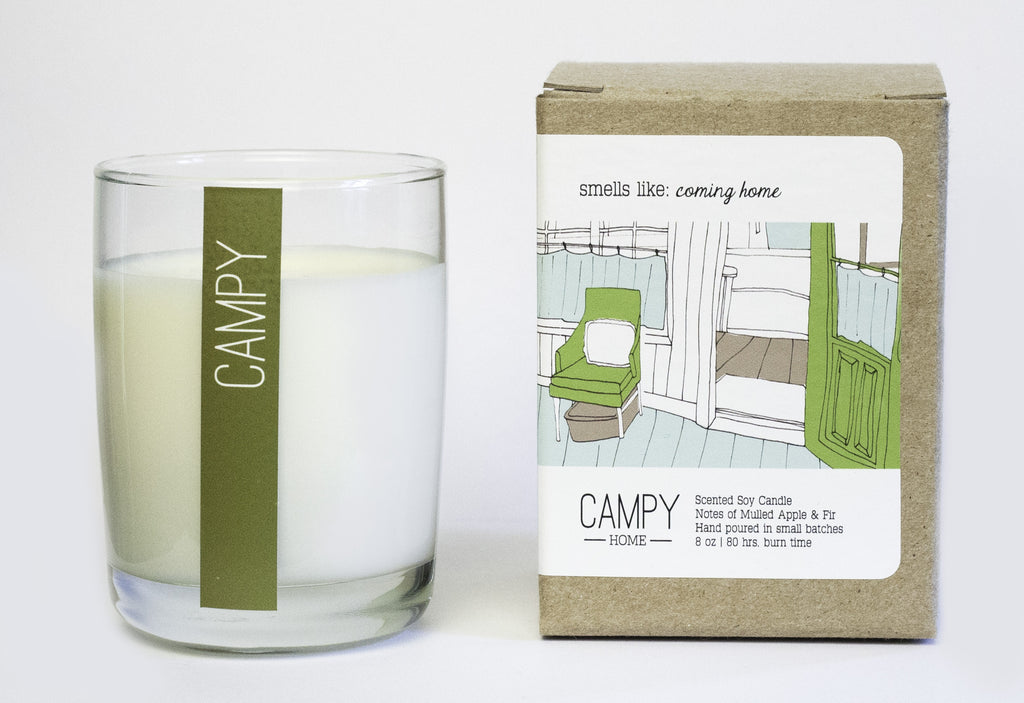 Coming Home Candle ---