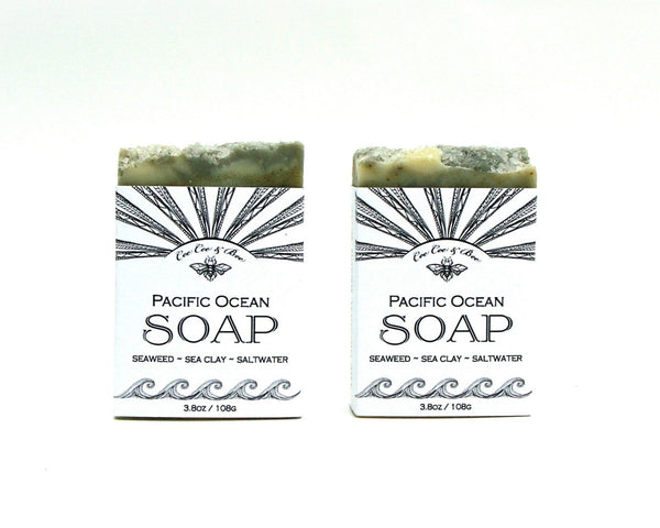 Pacific Ocean Soap (Set of 2)
