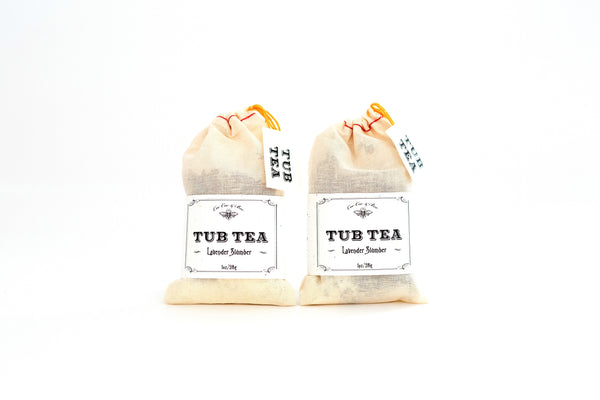 Lavender Slumber Tub Tea (Set of 2)