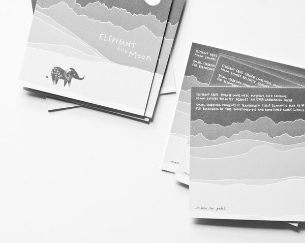 Elephant & Moon Illustrated Book ---