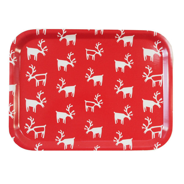 Red Lappland Birch Tray