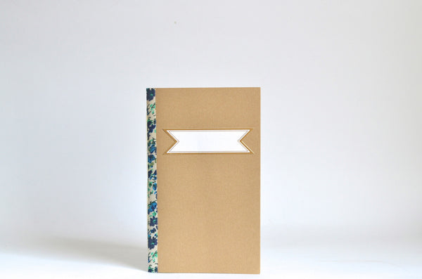 Handbound Floral Notebook (Set of 2) ---