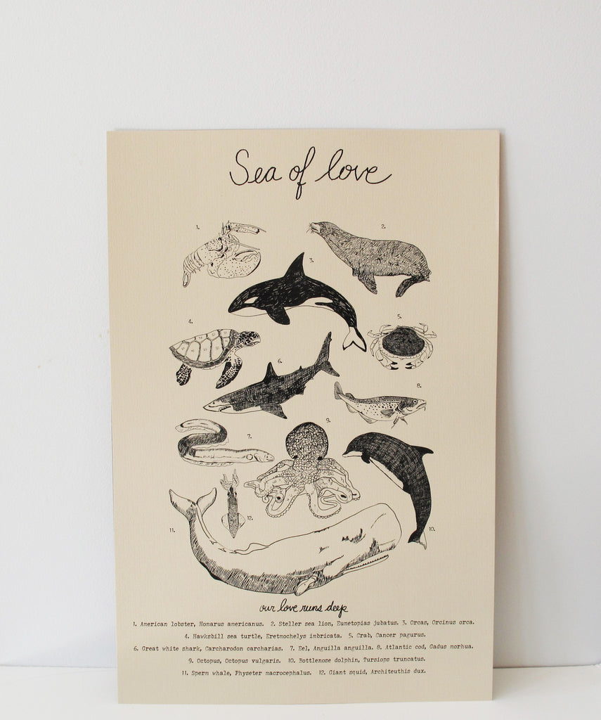 Sea of Love Poster ---