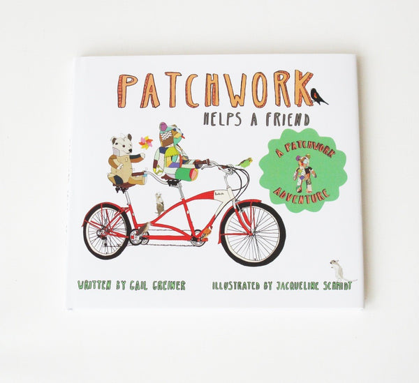 Patchwork Helps a Friend Children's Book