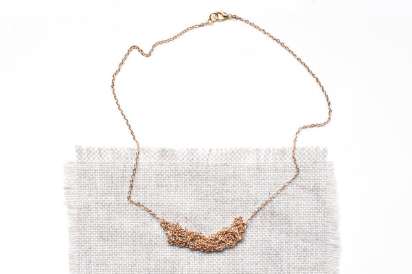 18k Gold Plated Delicate Necklace