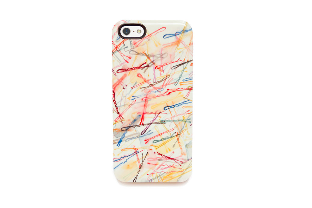 Bobbypins iPhone Case