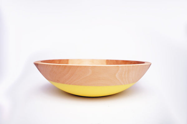 "12"" Beech Wood Serving Bowl"