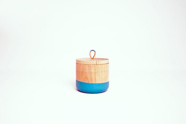 Wooden Canister with Top