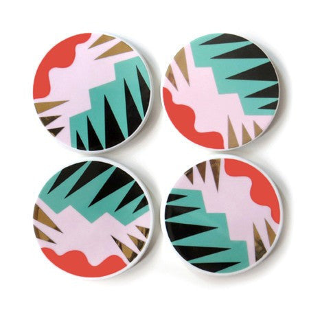 Fauve Coasters (Set of 4) ---
