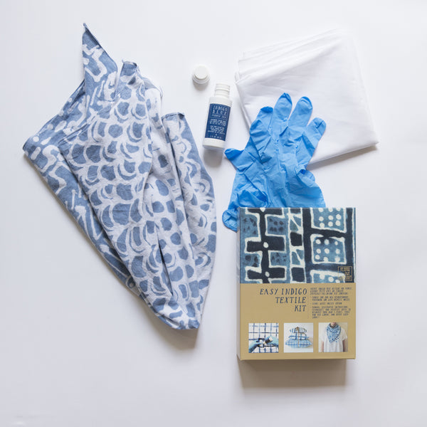 Easy Indigo Textile and Ink Kit