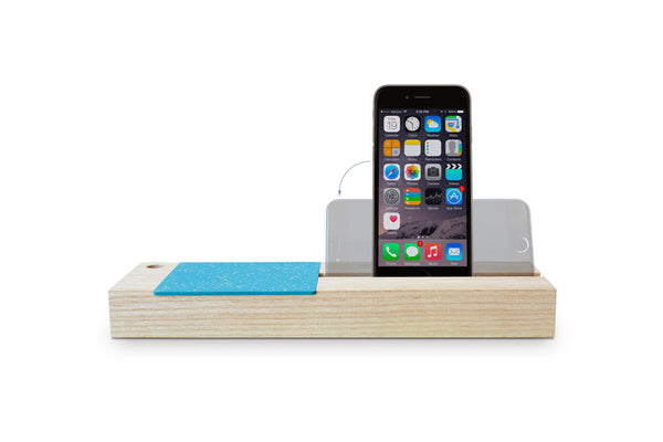 Blue Baxter Phone Dock & Storage
