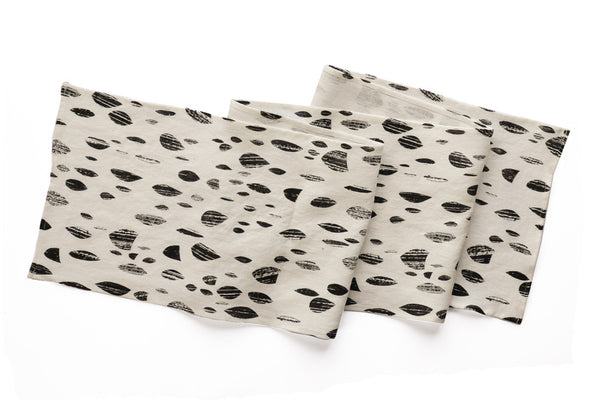 Grey Drops Table Runner (More Options)