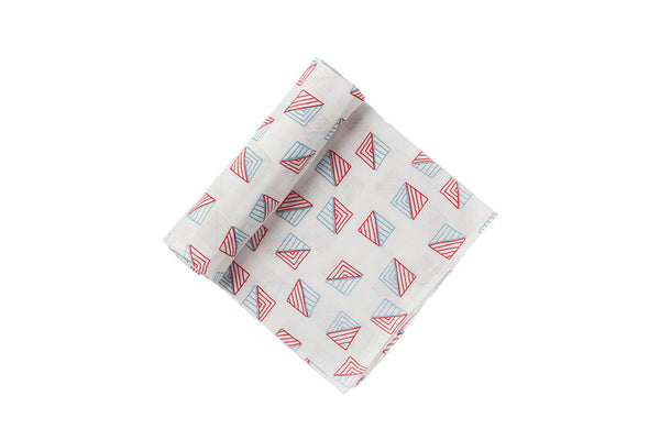 Triangles Swaddle ---