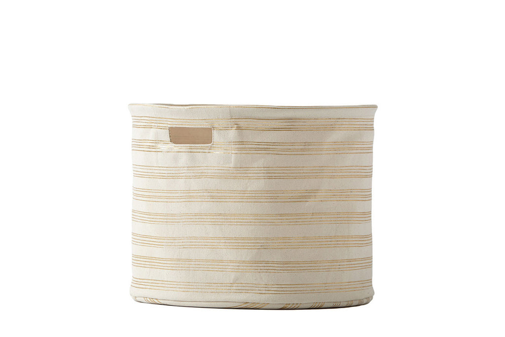 Medium Gold Stripe Drum