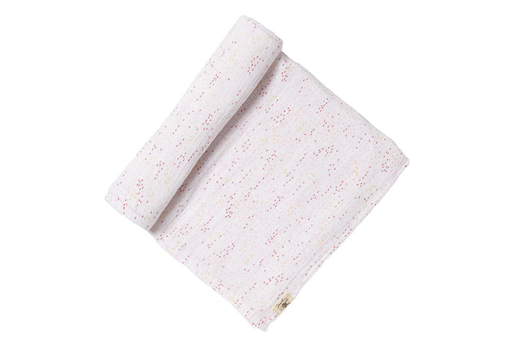 Showers Pink Swaddle