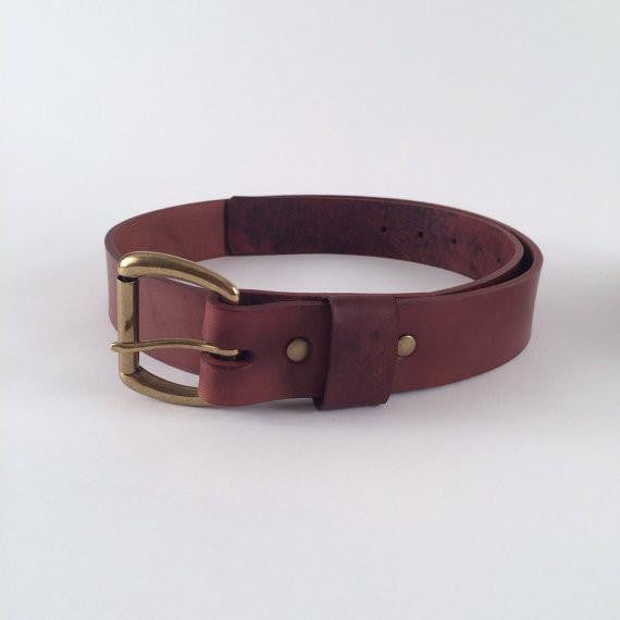 American Made Leather Belt (More Options)
