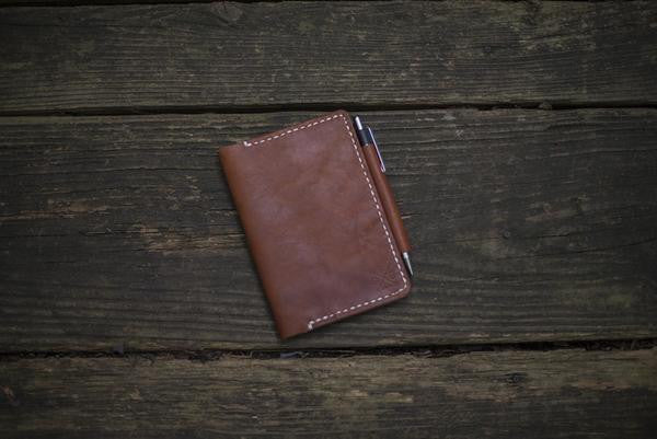 Field Notes / Moleskin Leather Notebook Cover (More Colors)