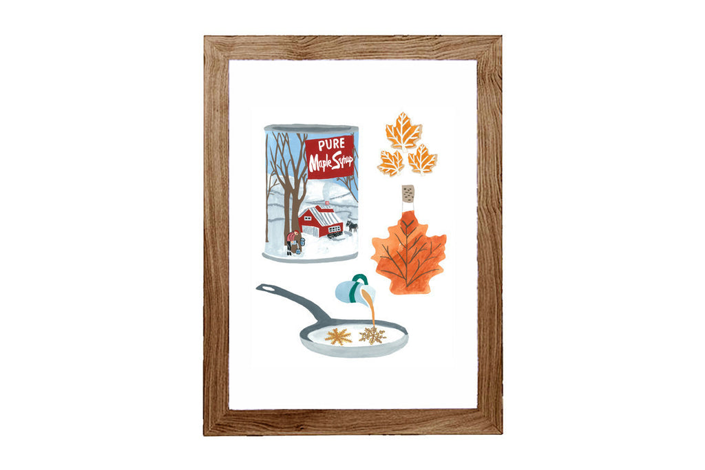 Maple Syrup Art Print