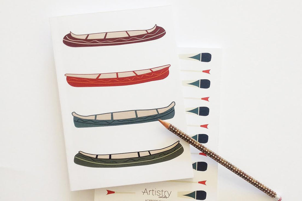 Canoe Perfect Bound Notebook (Set of 2)