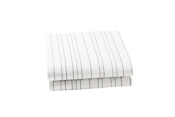 Painted Stripe Crib Sheet (More Colors)