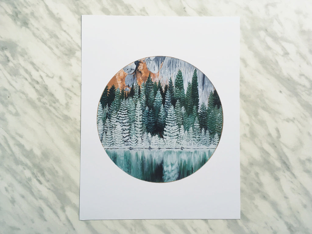Forest Print ---