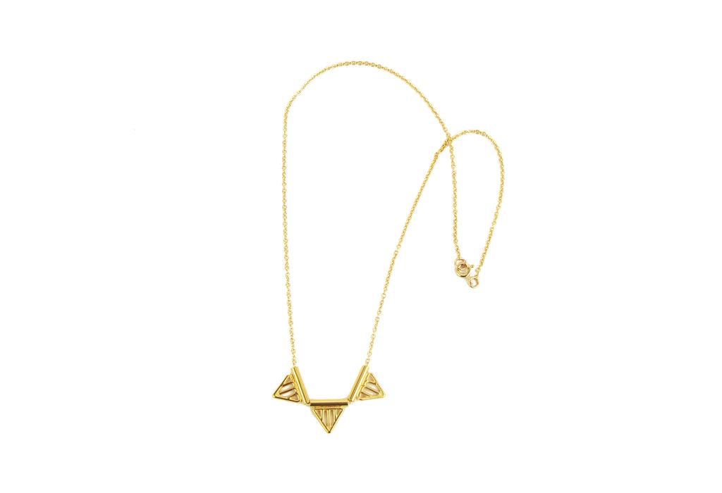 3 Triangles Necklace (More Options)