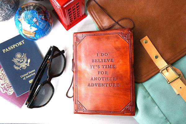 Another Adventure Leather Journal ---