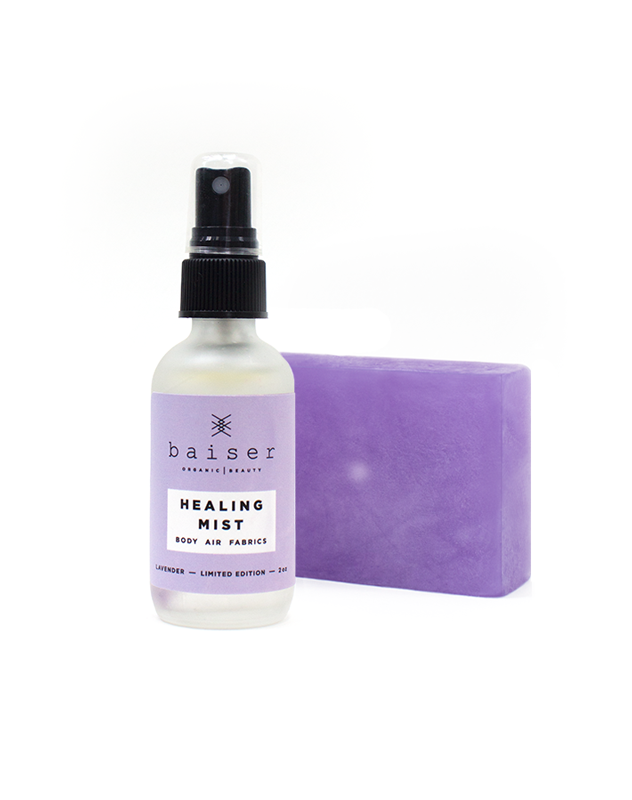 Vibrations Collection Healing Lavender Set